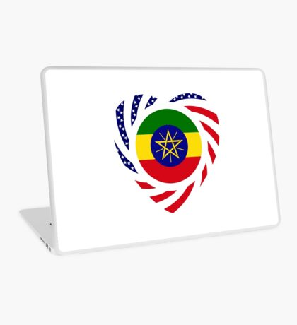 Ethiopian American Multinational Patriot Flag Series 2.0 Laptop Skin