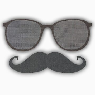 Gilenzo Mustache & Sunglasses - Boys and Girls by GilenzoOutlet