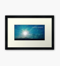 ©HCS Ahura Mazda Textured Framed Print
