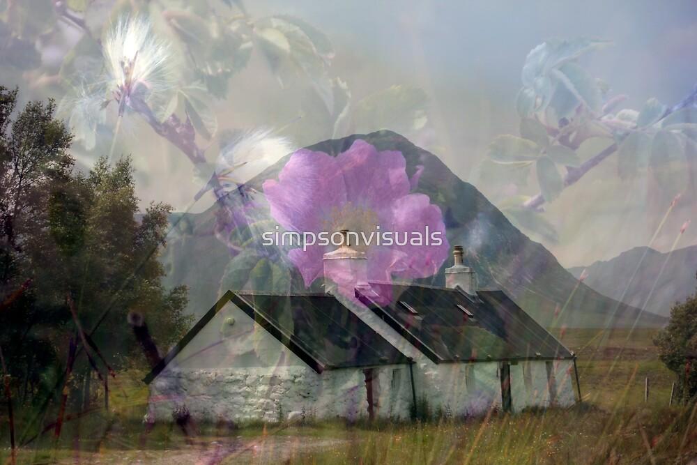 Blackrock Cottage, Glencoe, Scotland by simpsonvisuals