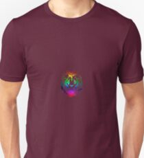 Colourful Lion Head Art T-Shirt