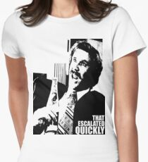 "Ron Burgundy ""That escalated quickly"" in Anchorman T-Shirt T-Shirt"