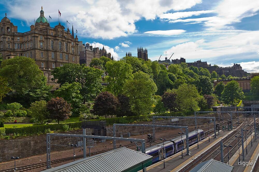 Edinburgh Railway by diggle