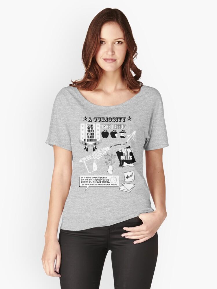 H.G. Wells Witticisms Women's Relaxed Fit T-Shirt Front