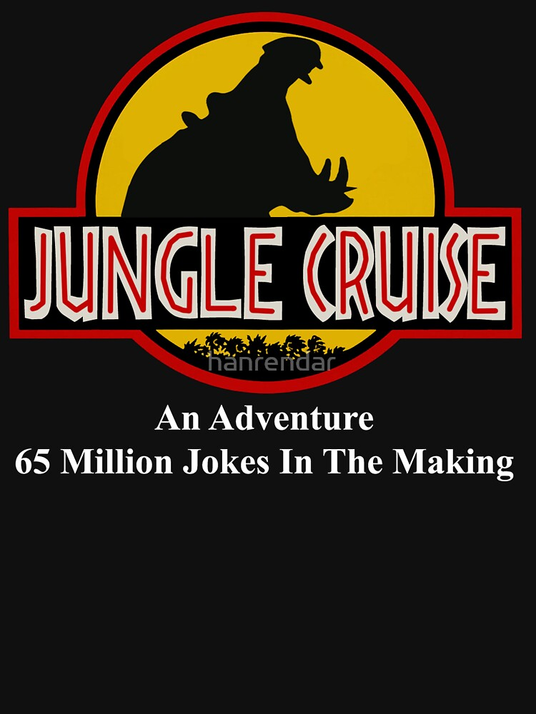 Jungle Cruise Park (WITH TEXT) | Unisex T-Shirt