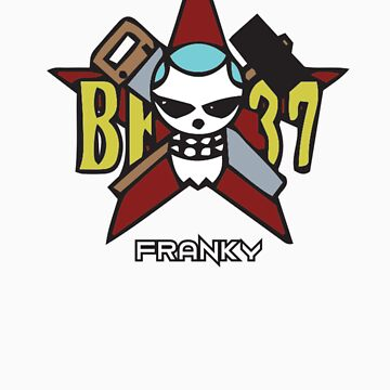 Franky Pirate Emblem by Zanzabar7