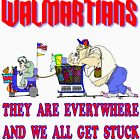 Walmartians Stuck in our checkout line by Skree