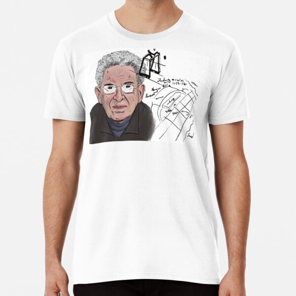 Illustration of Russel Targ Premium T-Shirt