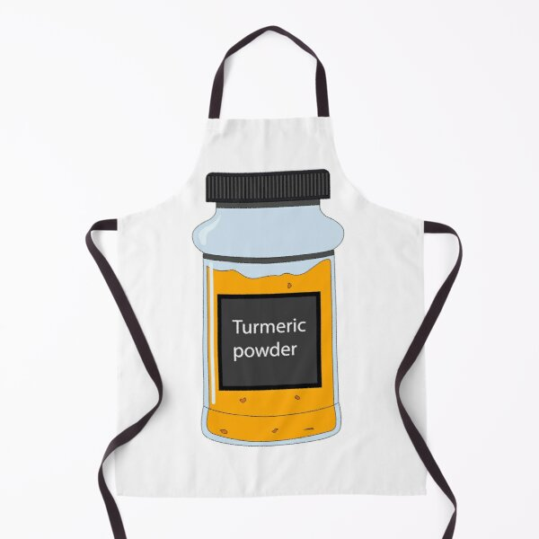 Turmeric powder Apron