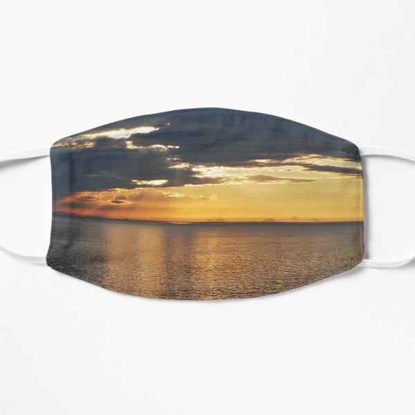 sunset morton bay glasshouse mountains in background july 2019 Mask