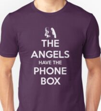 The Angels Have The Phone Box - Keep Calm poster style T-Shirt