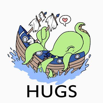 HUGS by Moriartsy