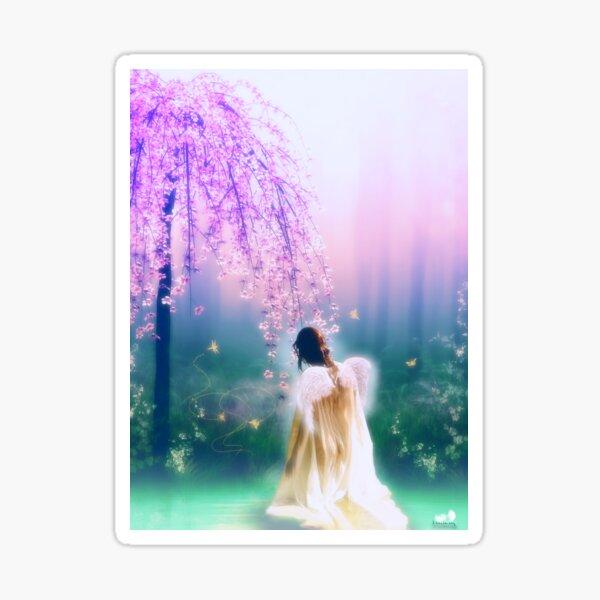 Angelic Morning Sticker