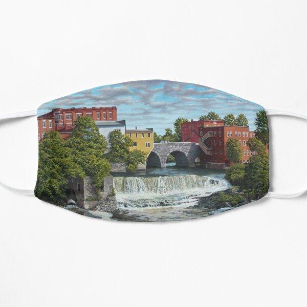 Middlebury Falls by Reed Prescott Flat Mask
