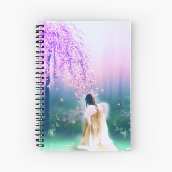 Angelic Morning Spiral Notebook
