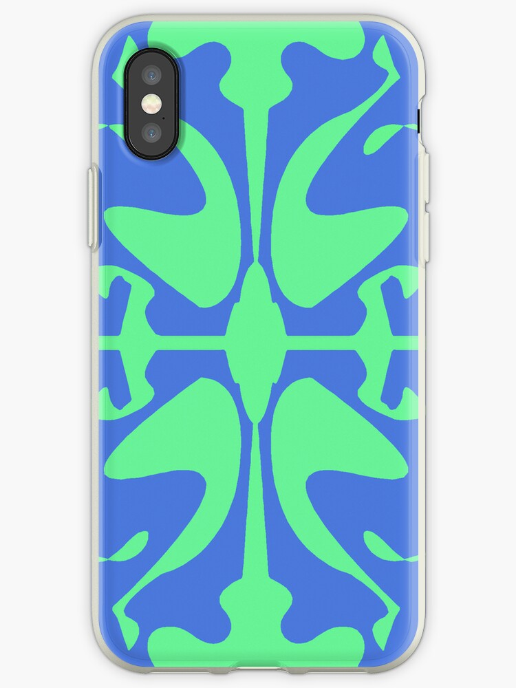 Blue & Turquoise Design for iPhone & iPod by GJPart
