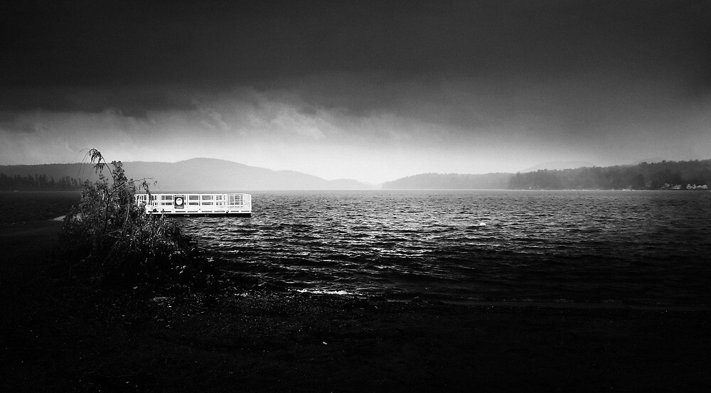 Boat Docks During Storm by Nazareth