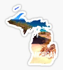 Michigan Beach Sticker