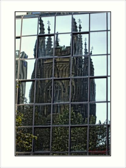 Window Reflection in Sydney/NSW/Australia by Wolf Sverak
