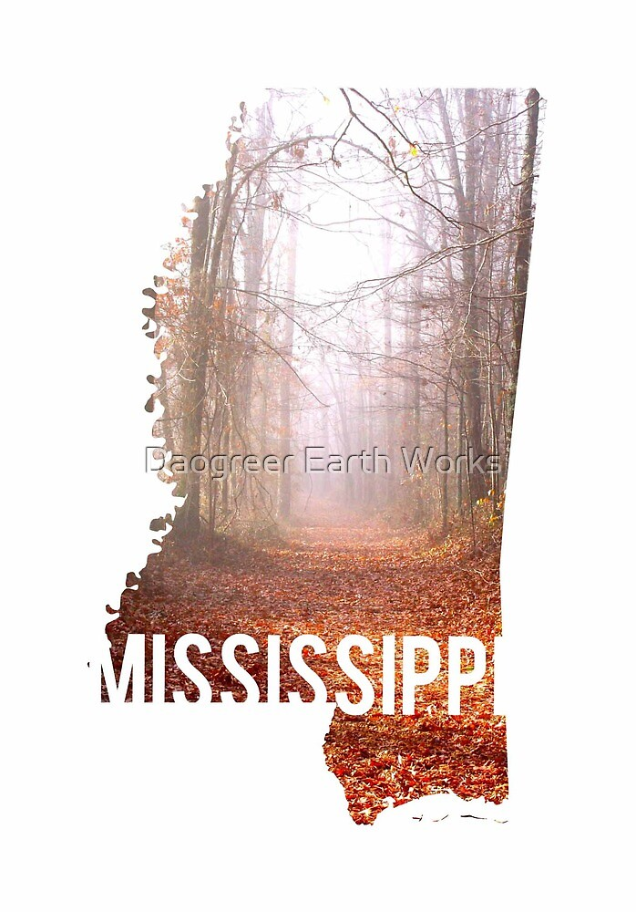 Mississippi Woods by Daogreer Earth Works