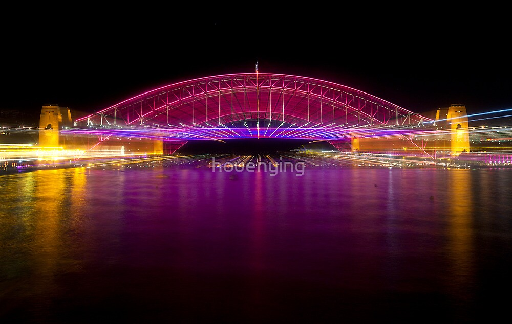 the bridge in red by houenying