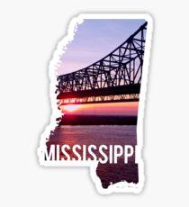 Mississippi River Sticker