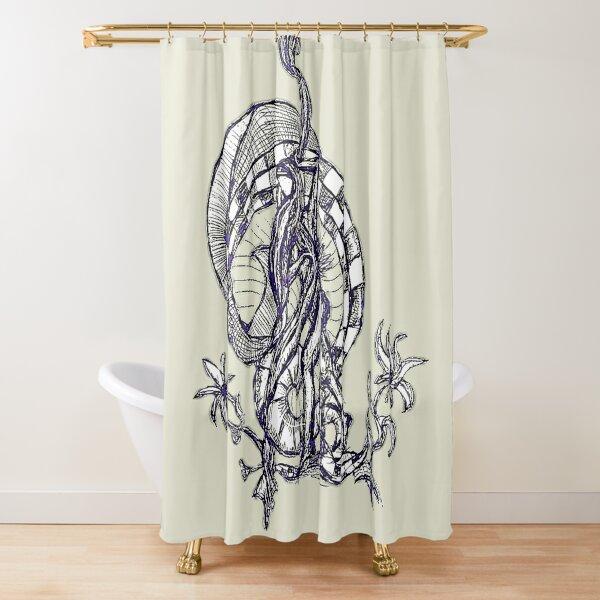 LittleTScribble#13 Shower Curtain