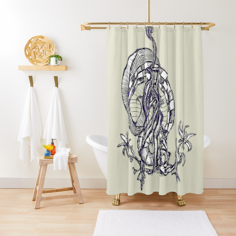 LittleTScribble#13 Shower Curtain