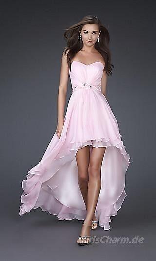 A-Linie Chiffon Herzausschnitt Kurz kleiden10635 by KylieIreland