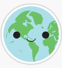 Happy Earth Sticker