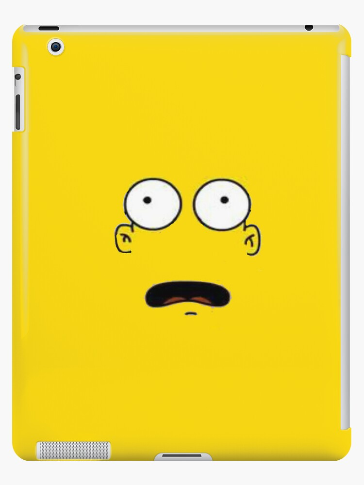 Yellow Man iPad Case by TheTubbyLife