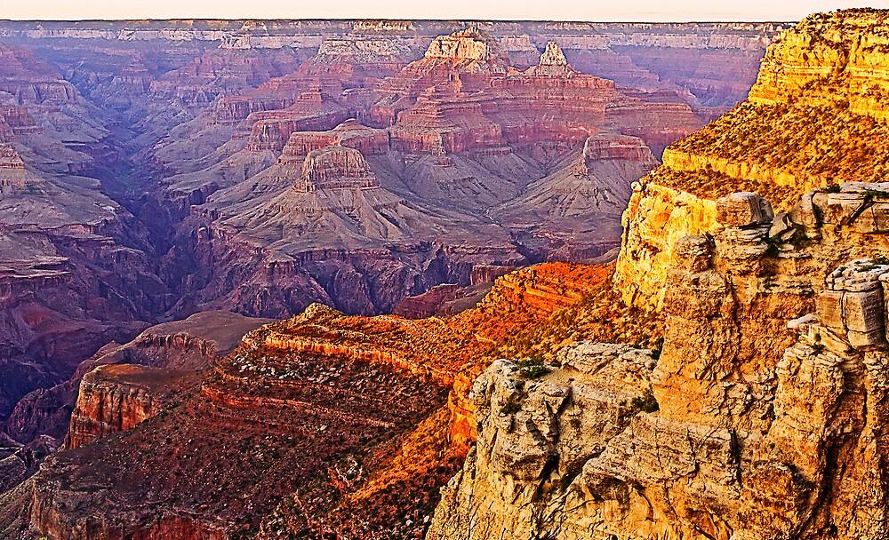 Grand Canyon at Sunset, Arizona, USA by TonyCrehan