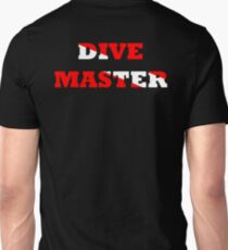 DIVE MASTER WITH SCUBA FLAG Unisex T-Shirt