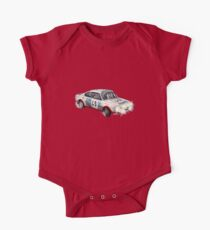 VINTAGE RALLY CAR. One Piece - Short Sleeve