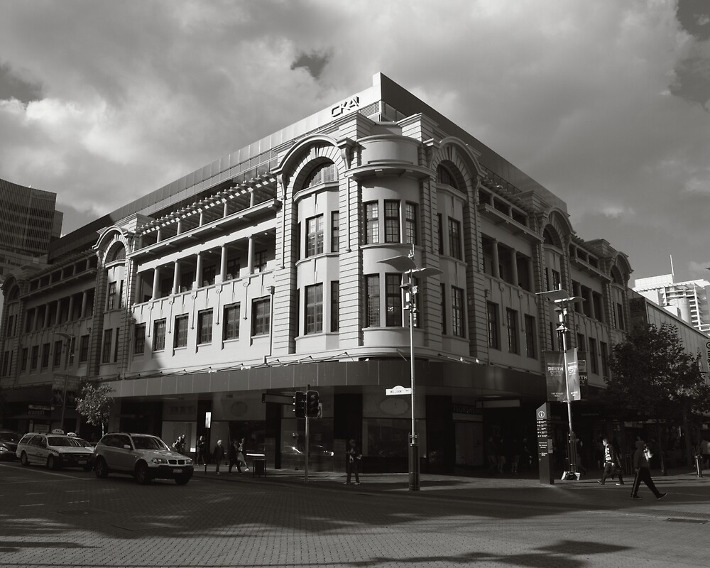 Corner of Hay and William Street Perth by Andrew  Makowiecki
