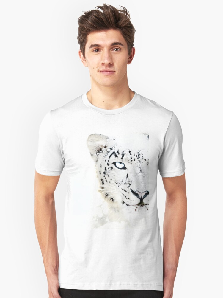 SNOW CAT * LIMITED EDITION * Unisex T-Shirt Front
