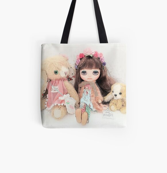 Jenny Bear and Belle All Over Print Tote Bag