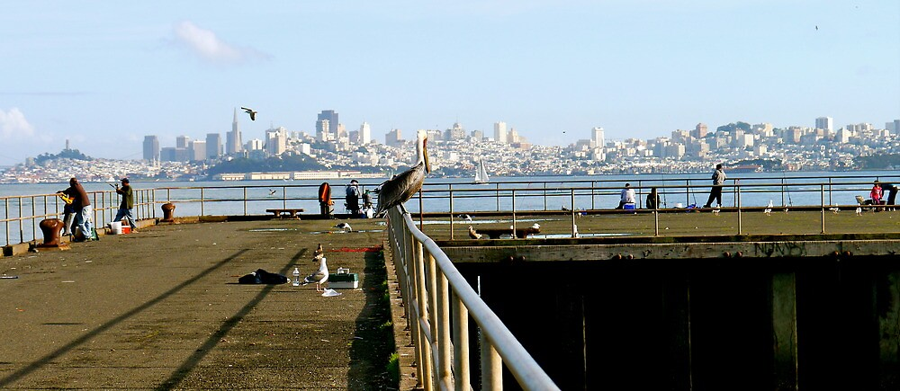San Francisco in the distance by ADayToRemember