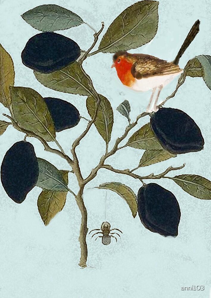 Robin and spider convo. by anni103