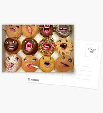 Freaking Donuts Postcards