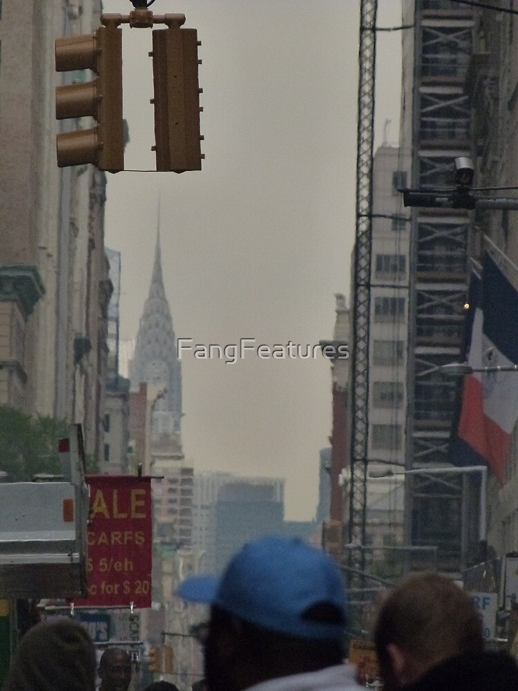 NYC Chrysler Building Sneak Peek by FangFeatures