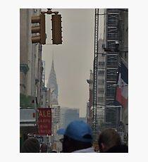 NYC Chrysler Building Sneak Peek Photographic Print