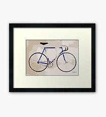 The Gios Track Bike Framed Print