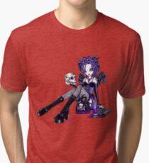 Gabriella Gothic Tattoo Angel Tri-blend T-Shirt