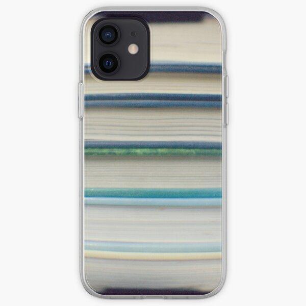 Blue book stripes iPhone Soft Case