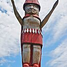Welcoming Totem by David Davies