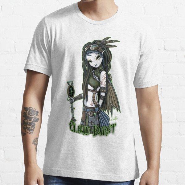 Cloud Burst Steampunk Aviatrix Fairy Essential T-Shirt