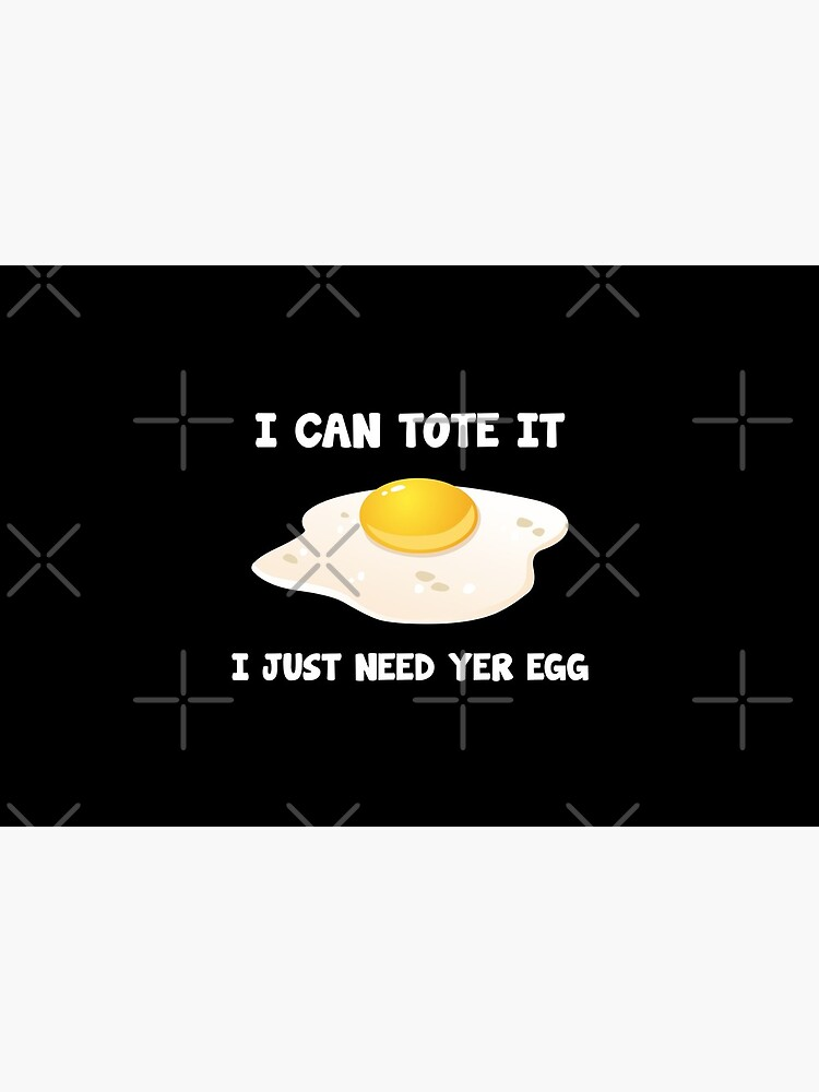 I can tote It, I just need yer egg by cl0thespin