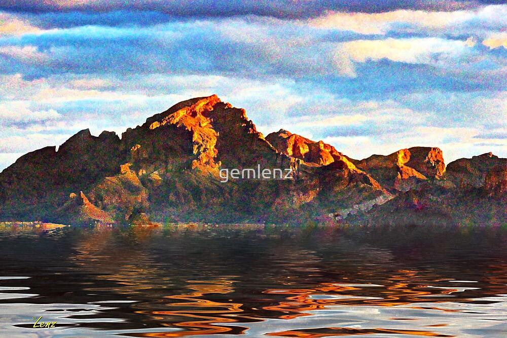 Artistic Mountain by gemlenz