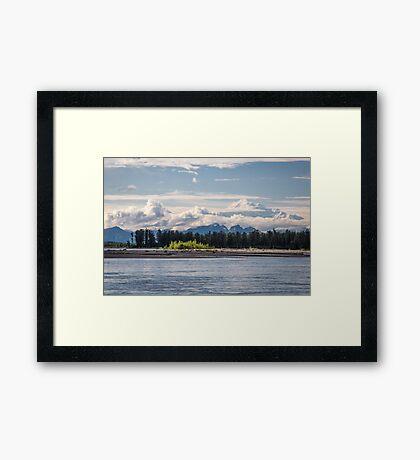Denali from Talkeetna Framed Print